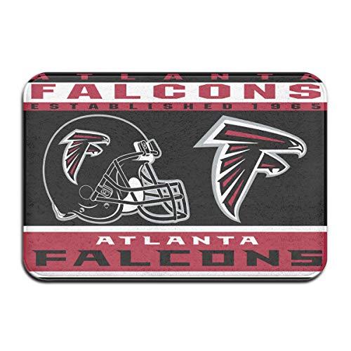 Atlanta Falcons Door Mat - Dalean Atlanta Falcons Anti-Sliding Door Mat Floor Mat,Do Not Fade,15.75inx23.62in,Suitable Indoor Floor MATS Such As Entrance, Bathroom,Bedroom,Toilet,Etc
