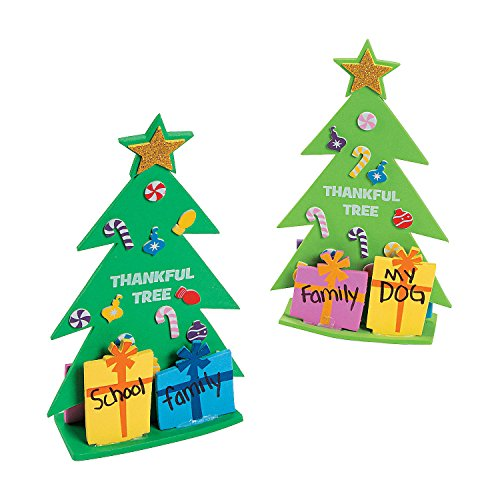 3D Thankful Christmas Tree Craft Kit (Thankful Tree Craft)