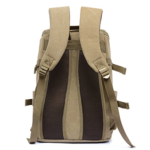 Laidaye Shoulder Multi a Backpack onesize Business Travel Retro Bag purpose Leisure ffpFwxqrC