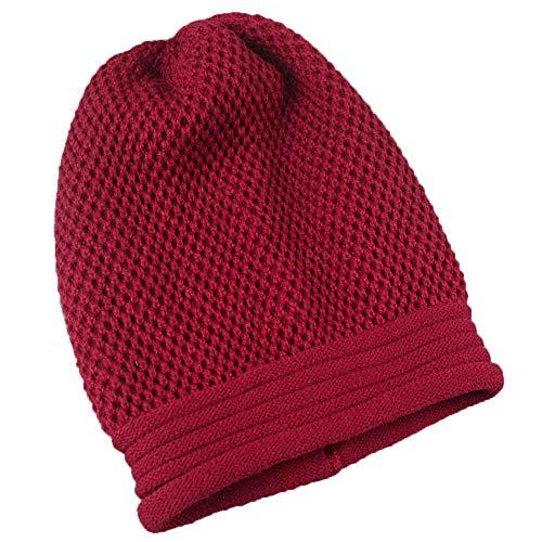 URIBAKE ❤ Women's Knitted Hats Slouchy Winter Hip-Hop Beanie Baggy Unisex Ski Skull Crochet - King Jacket Strike