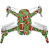 Skin For Yuneec Breeze 4K Drone – Football | MightySkins Protective, Durable, and Unique Vinyl Decal wrap cover | Easy To Apply, Remove, and Change Styles | Made in the USA