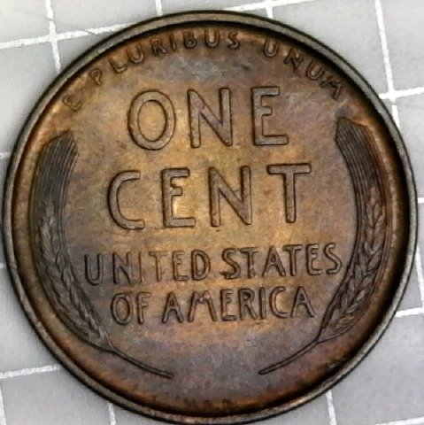 MS RB MINT STATE RED BROWN*  *FREE SHIPPING* 1946 P Wheat Cent Penny *BU