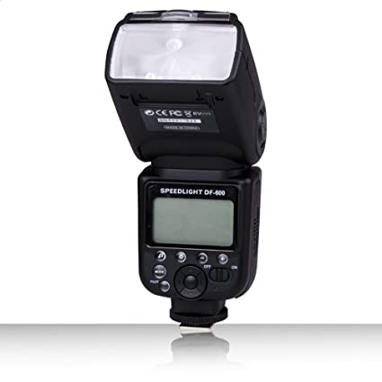 Dbk DF de 600 GN58 LCD flash dispositivos Luz de flash Speedlite ...