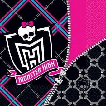 High Monster Napkins Lunch (designware Monster High 16 Pack Lunch)