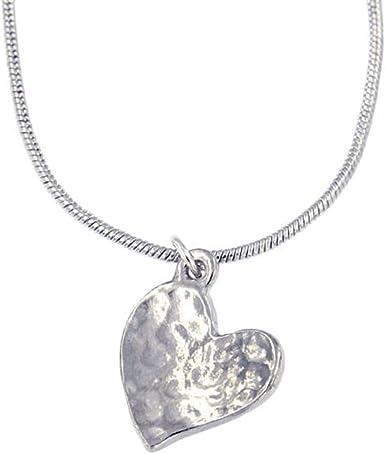 """Belle 18/"""" à la lune et retour Pend... St Justin fait à la main Étain bijoux"""