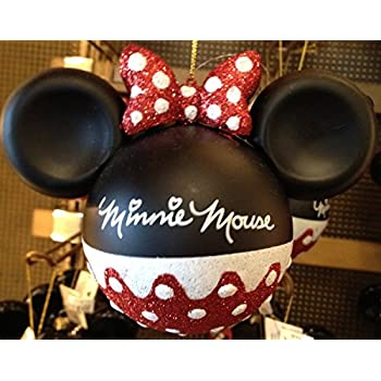 disney parks minnie mouse glitter ornament disney parks exclusive limited availability