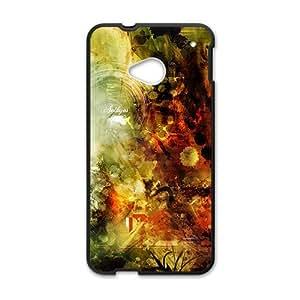 Artistic aesthetic design fashion phone case for HTC One M7 wangjiang maoyi