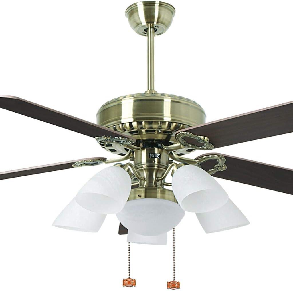 Luz del ventilador de techo 142 cm Hoja de Madera Ventilador de Techo lámpara Ventilador de Techo Dormitorio luz del Ventilador: Amazon.es: Hogar