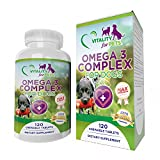 The Fish Oil found within this product utilizes patented technology to create an Omega 3 powder from 100% fish oil. This advanced technology increases the purity and oxidation stability making it the most potent Omega-3 supplement for dogs on the mar...