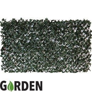 Artificial Maple Leaf Willow Screening Attached To An Expandable Willow  Fence 2x1 Metre