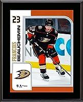 """Francois Beauchemin Anaheim Ducks 10.5"""" x 13"""" Sublimated Player Plaque - Fanatics Authentic Certified"""
