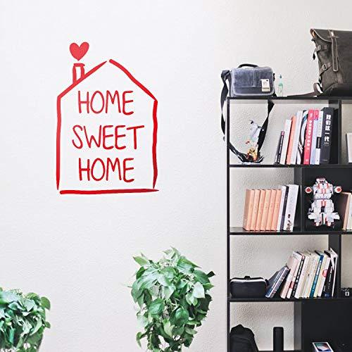 (Vinyl Wall Art Decal - Home Sweet Home House - 29