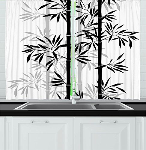 bamboo kitchen curtains - 7