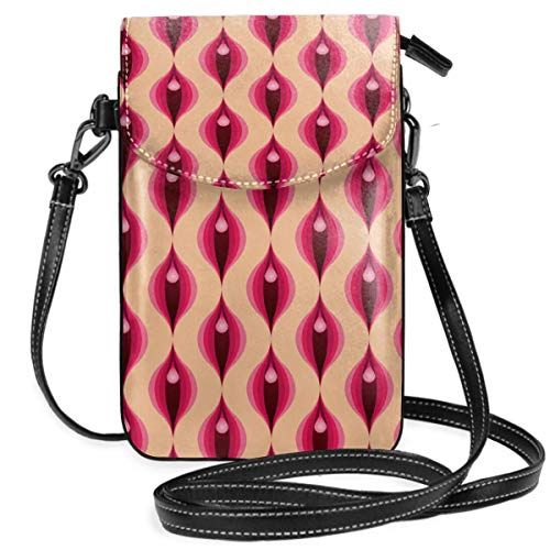 Small Cell Phone Purse Crossbody Cellphone Shoulder Bag Mod Yoni Smartphone Wallet Purse with Removable Strap