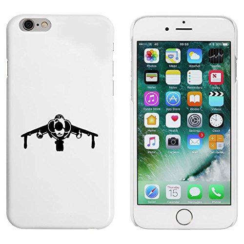 Blanc 'Avion à Réaction' étui / housse pour iPhone 6 & 6s (MC00085177)