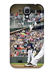 cincinnati reds case's Shop Hot minnesota twins MLB Sports & Colleges best Samsung Galaxy S4 cases 8551441K422472622