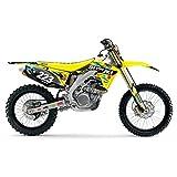 2010-2017 SUZUKI RMZ 250 Team JTech Motocross Dirt Bike Number Plates