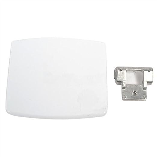 Spares2go – Manilla de puerta para lavadoras Whirlpool (blanco ...