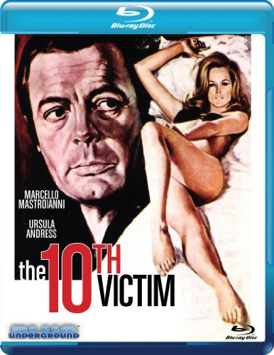 The 10th Victim [Blu-ray]
