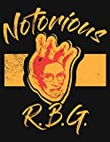 img - for Notorious RBG - Crown Notebook: College Ruled Lined Notebook book / textbook / text book