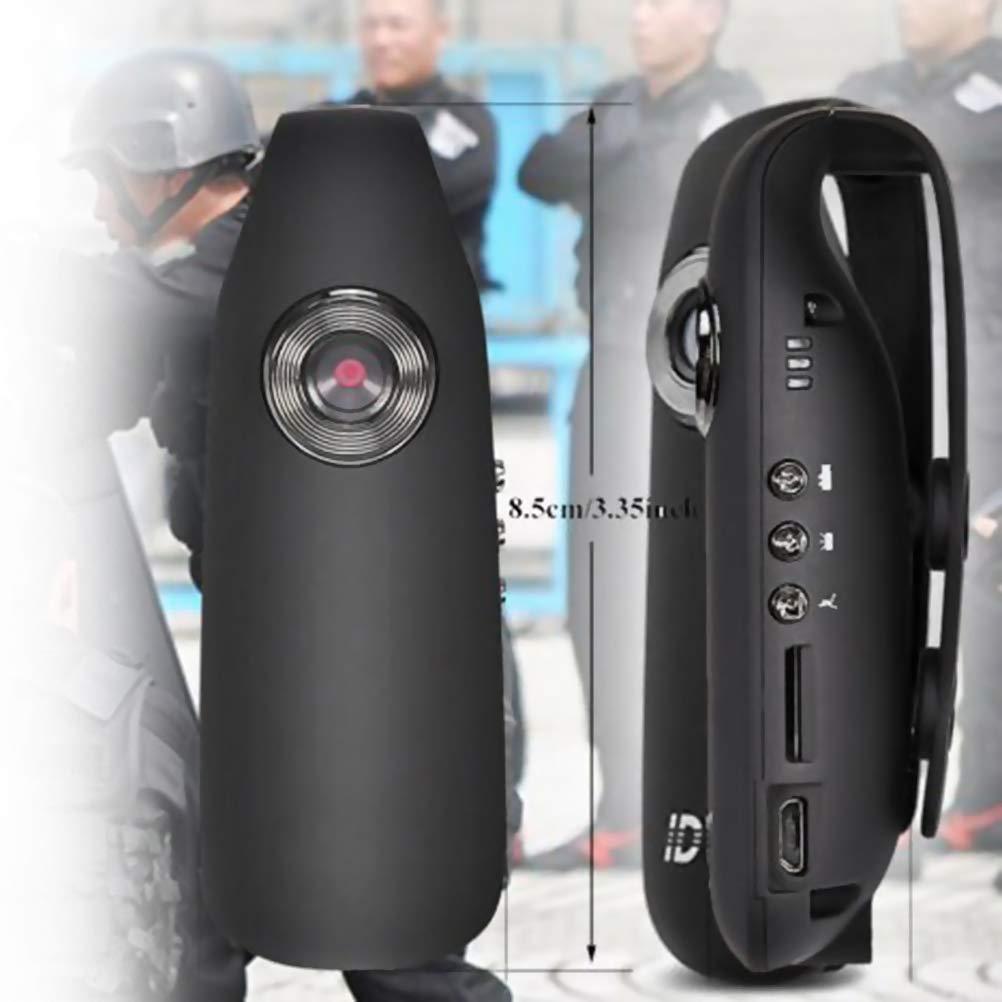 007 Mini Fotocamera Hihey Mini Fotocamera 1080P Full HD Dash Cam per Polizia//Moto//Bicicletta//Sport