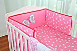 Pink Butterfly - Crib Bedding Set for Girls