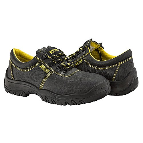 Wolfpack 15018135–Schuhe Sicherheit schwarzes Leder Wolfpack Nr. 43