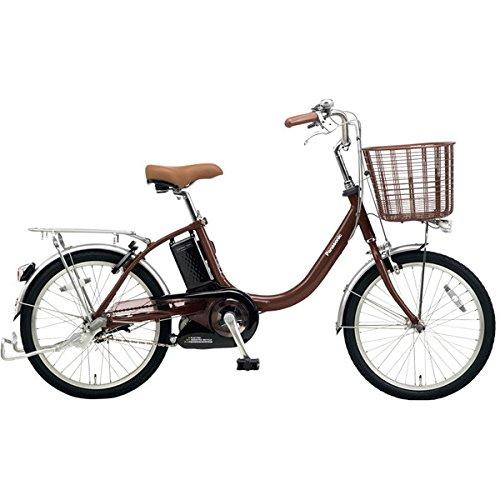 Panasonic(パナソニック) 2018年モデル ビビLS 20インチ BE-ELLS032 電動アシスト自転車 専用充電器付 B077V9143WT:チョコブラウン