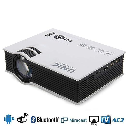 KAIDILA PROYECTOR, UC40 LED proyector Full HD 1080p lúmenes ...