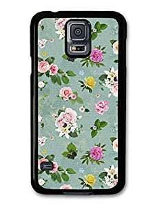 Shabby Chic Flowers Roses Vintage Floral case for Samsung Galaxy S5 by ruishername