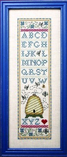 Sweetheart Tree The Bee Cottage Counted Cross Stitch Kit - (Sweetheart Sampler)
