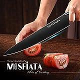 "MOSFiATA 8"" Super Sharp Titanium Plated Chef's"