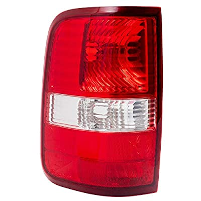 Drivers Taillight Tail Lamp Replacement for 2004-2008 F150 Styleside Pickup Truck 6L3Z13405BA: Automotive