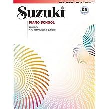 Suzuki Piano School, Vol 7: Book and CD