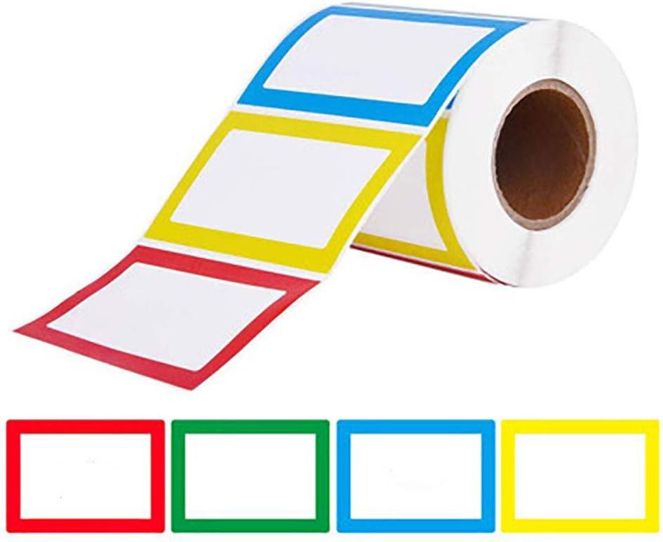 /écoles,Pots de Confiture,V/êtements ou F/êtes D/'anniversaire Etiquettes Autocollants Stickers Nom /Étiquettes Color/é Name tag didentification Autocollants,pour la Maison et Le Bureau,Enfants 300pcs
