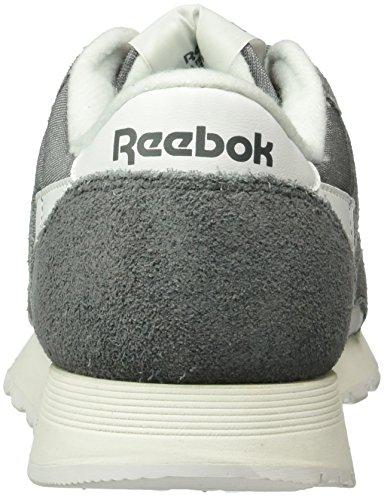 ReebokClassic Nylon R13 - Zapatillas Hombre Gris (Alloy/White)