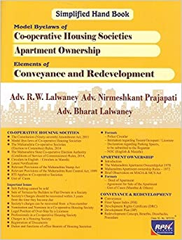 Bye-laws Of Cooperative Housing Society Ebook Download