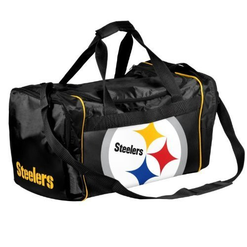 NFL Pittsburgh Steelers Locker Room Collection Medium Duffle Bag