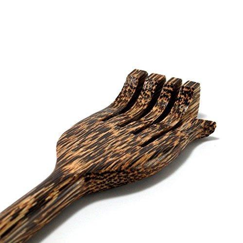 TRUST - Back Scratcher New Palm Wood Handmade stick Thai Body Massager wooden