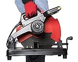 GENERAL INTERNATIONAL Metal Cut Off Saw - 15A 2.5HP Metal Cutting Abrasive Saw with Safety Trigger & Arbor Lock Mechanism - BT8005