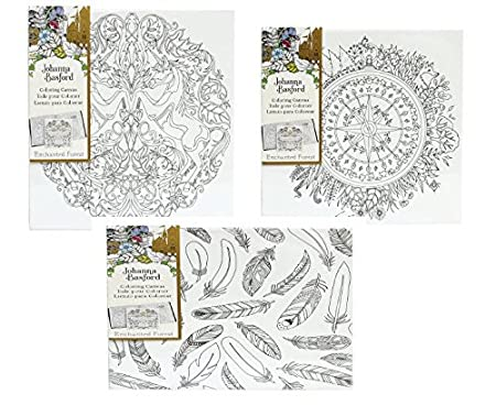 Johanna Basford Canvas Set