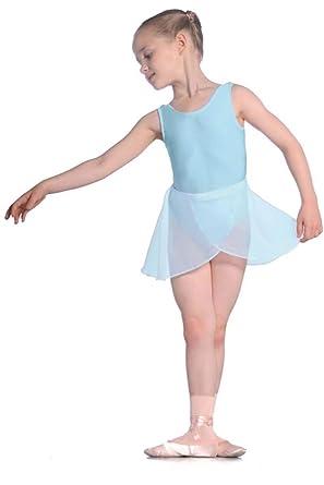 Ropa de descanso para niñas falda roch valley ballet/crepé para ...