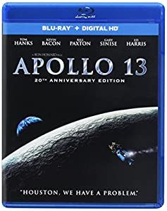 Cover Image for 'Apollo 13 - 20th Anniversary Edition (Blu-ray with DIGITAL HD)'