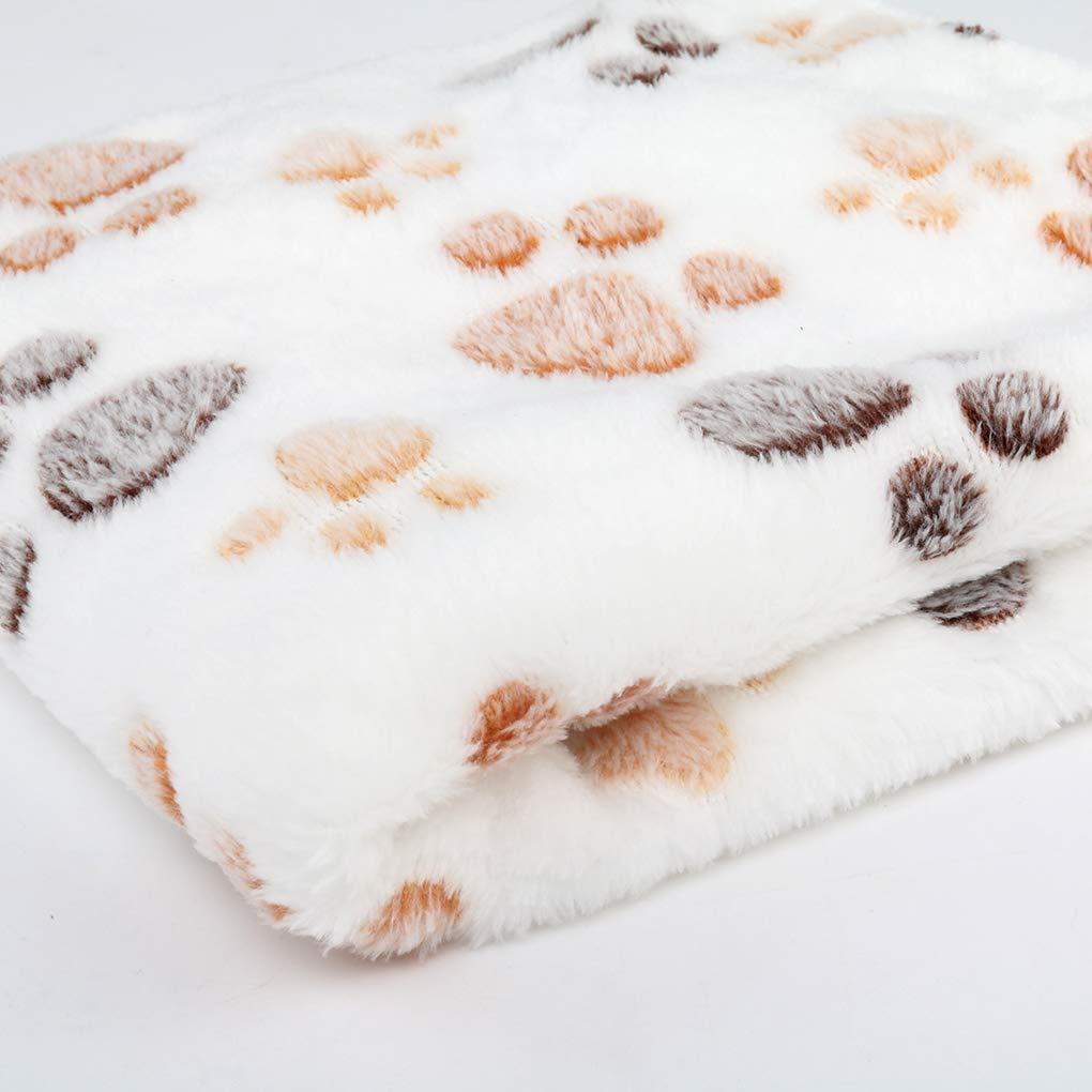 Ben-gi Weiche warme Haustier-Fleece-Decken-Bett-Matten-Auflage Abdeckungs-Kissen f/ür Hund-Katze-Welpen Tier