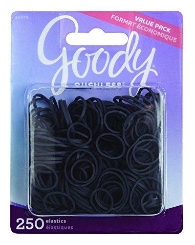 Goody Classics Rubberband, Black, 250 Count