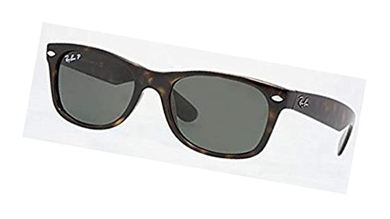 54ef68313ae Amazon.com  Ray-Ban Original Wayfarer RB 2140 Sunglasses Black Crystal  Green Polarized (901 58) 50mm   HDO Cleaning Carekit Bundle  Clothing
