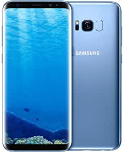 Samsung Galaxy S8+, 64GB, Coral Blue - For AT&T (Renewed)
