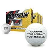 Srixon Z Star 5 Personalized Golf Balls - Buy 3 Dz Get 1 Dz Free