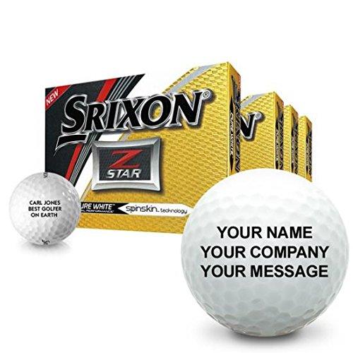 Srixon Z Star 5 Personalized Golf Balls - Buy 3 Dz Get 1 Dz Free by Srixon (Image #5)