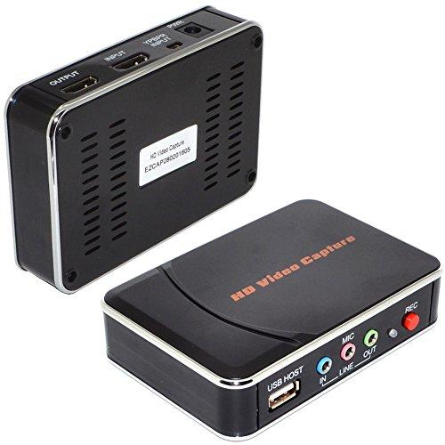 Network Capture Box : Ezcap hdmi game capture grabber recorder box for ps